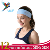 Headbands vintage elastic printed head wrap stretchy moisture custom design twisted hair accessories