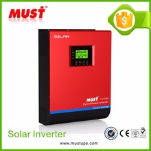 MUST PWM 50A Controller Auto AC Restart 1-5KVA Solar Power Inverter