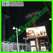Modurization,high resolution,high contrast design;comercial advertising LED monitor billboard