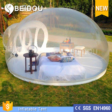 High Quality Outdoor Inflatable Clear Camping Bubble Tent for Sale/Party/Event/Activities