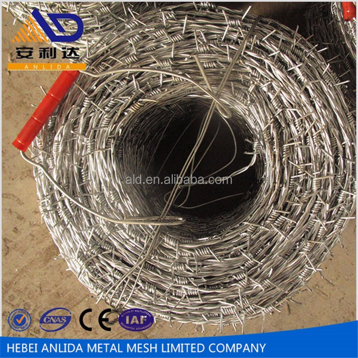 Cheap Price High Quality Low Carbon Steel Wire Pvc Coated Barbed Wire