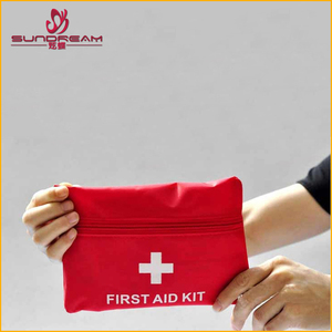 Yiwu Bag factory custom taobao hot sale travel household First aid kit custom military toiletry bag