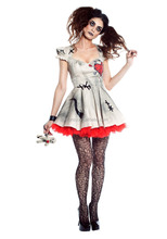 womens voodoo doll fancy dress competition pictures halloween costume QAWC-8241