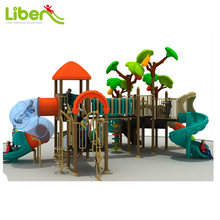 China Plastic Preschool Big Children used outdoor playground equipment