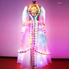 2015 dancing dresses ballroom, luminous costume for stage, light up suit