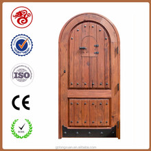 Old indian main door design solid wood single arch door