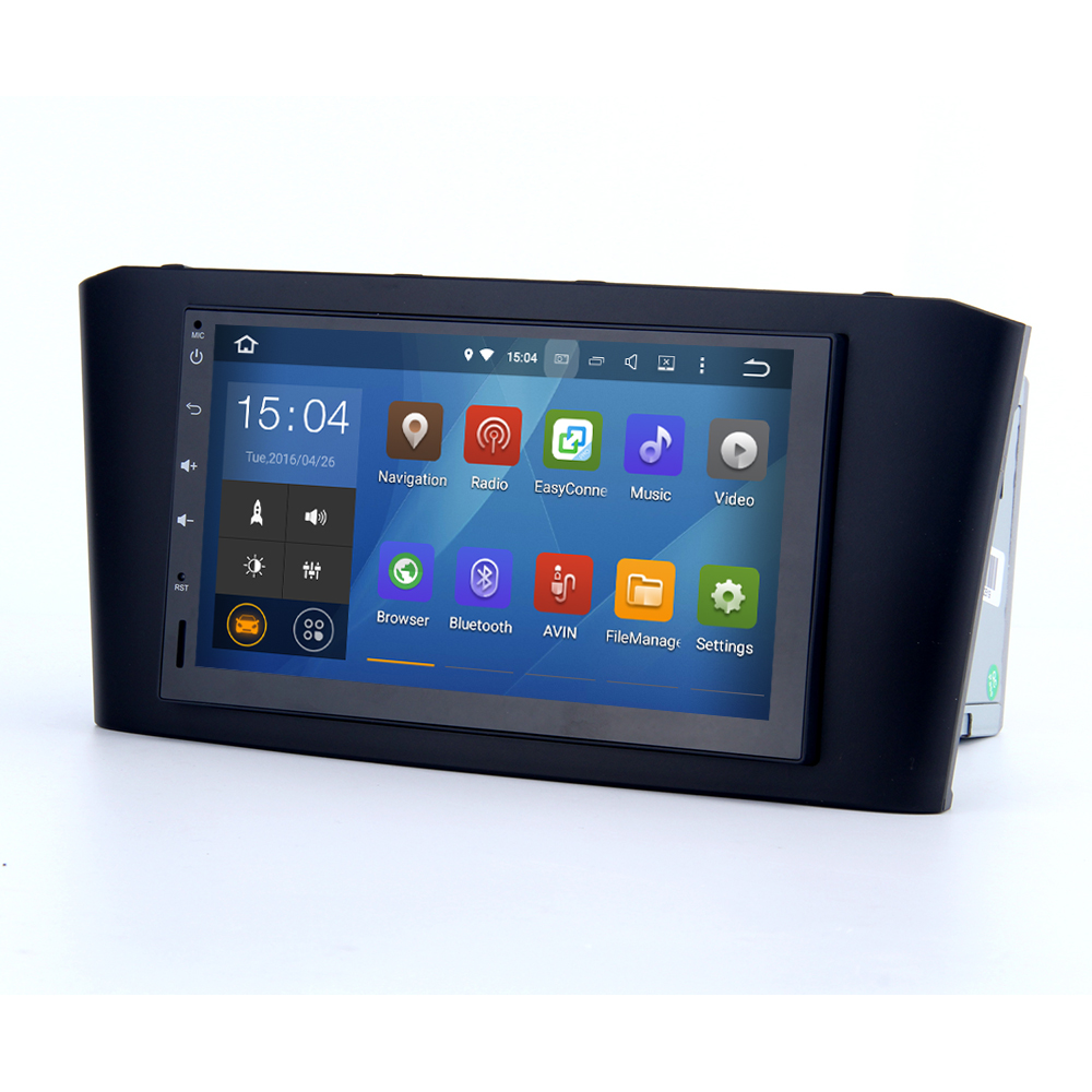 Wholesale cheap Quad core car gps android dvd player for Toyota Avensis 2003 2007 with touch screen GPS stereo navigation