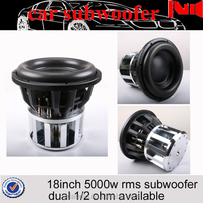 15inch spl subwoofer for car 12pcs neodymium magnet motor and 3000w rms/6000w max powered subwoofer