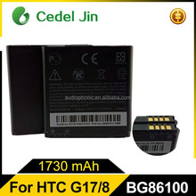 Cell phone accessory 3.8v exide battery for htc C470/EVO 3D/EVO 4G