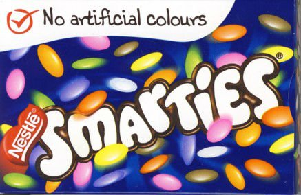 nestle smarties hex tube