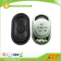 free sample 35x58mm oval tv speaker 8ohm 5w mini loudspeaker