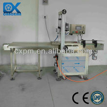 Guangzhou automatic screw type flip top cap closing machine