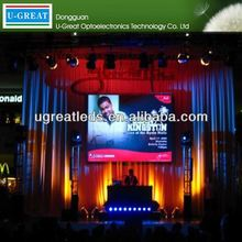 China new innovative product Shenzhen JHG SMD indoor /p10 outdoor DIP stage background led display big screen