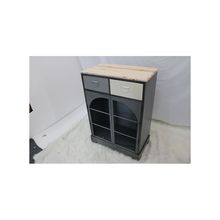 Shabby Chic Solid Wood Storage Chinese Antique Teak Wooden Shoe Cabinet Furniture