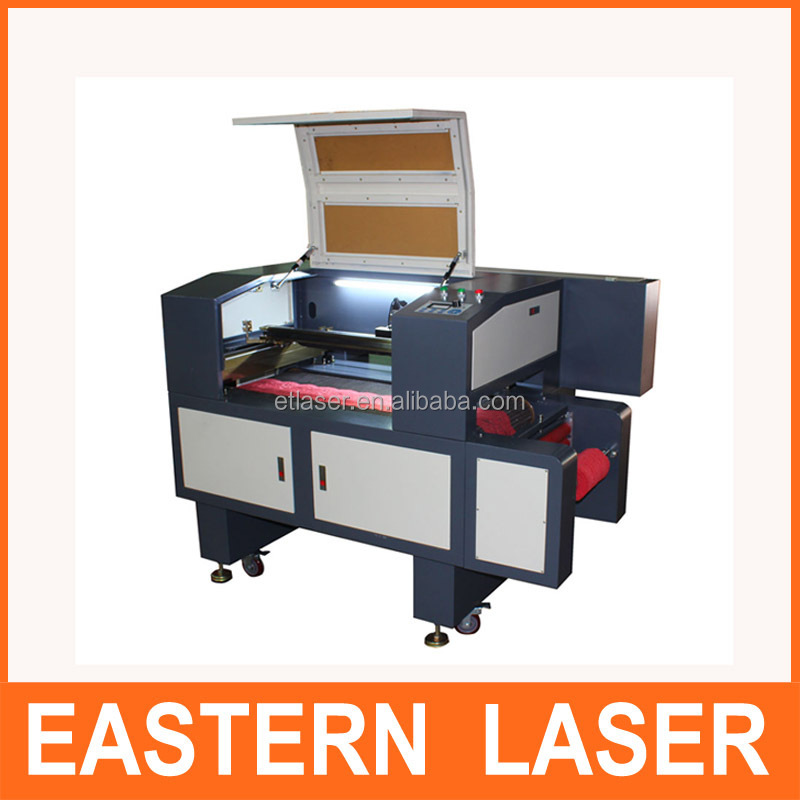 Roll to Roll adhesive sticker label laser cutting machine with CCD camera