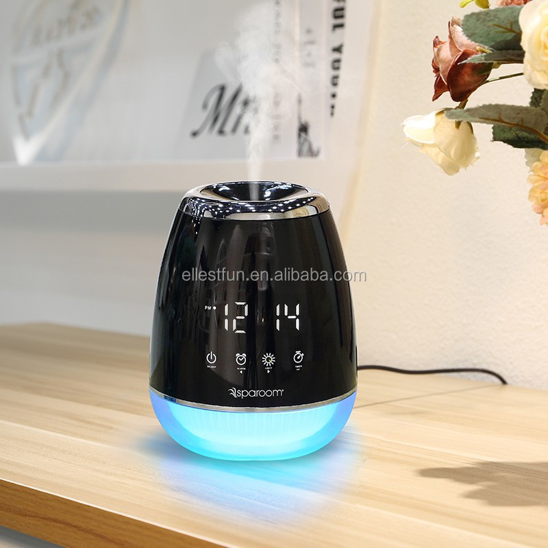 Electric Ultrasonic Home Aromatherapy Essential Oils Aroma Diffusers , aroma home fragrance diffuser with timer GH2128