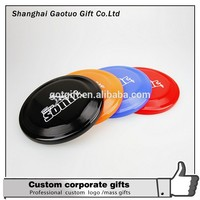 wholesale Cheap Promotional logo print Advertising Plastic Frisbee for dog