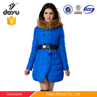 Women Gender and duck down Filling Material down coat for women bomber jacket woman