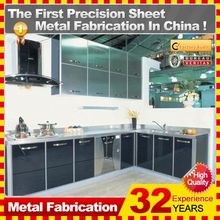 2014 new professional best sell customized modular kitchen cabinet color combinations and kitchen accessories&parts