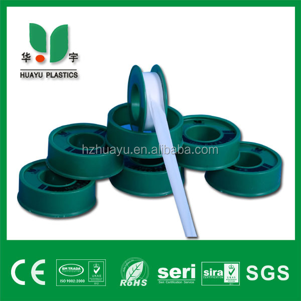 12mmx0.075mmx10m pure ptfe seal tape products exported to Dubai and India