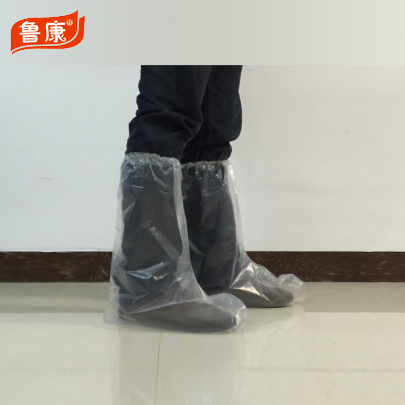 disposable PE/CPE/PP/polyethylene plastic Elastic boot shoe cover /Nonwoven/ Boot cover