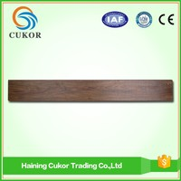 Outdoor interlocking PVC vinyl tile flooring 2mm thickness