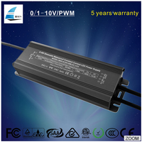 Waterproof ip67 0-10V pwm dimmable constant current power supply 500ma 700ma 900ma 1050ma 1400ma 1700ma led driver 50w