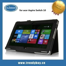 High quality stand leather case for Acer Aspire Switch 10