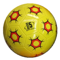 32 Panels yellow color soccer ball