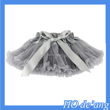 Hogift New Arrival Baby Girl's Solid Color Dance Tutu Pettiskirt