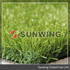 badminton court mat of synthetic grass turf