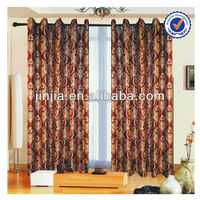 M2647 latest design pure poly embroidery curtain macrame fabric ly hospital curtains