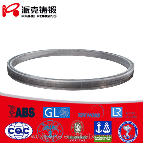 aluminum alloy forgings/large size forged rings used for aviation