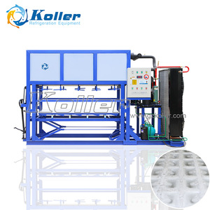 Koller Hot Commercial Direct Refrigeration Block Ice Machine DK15 1500kg a day