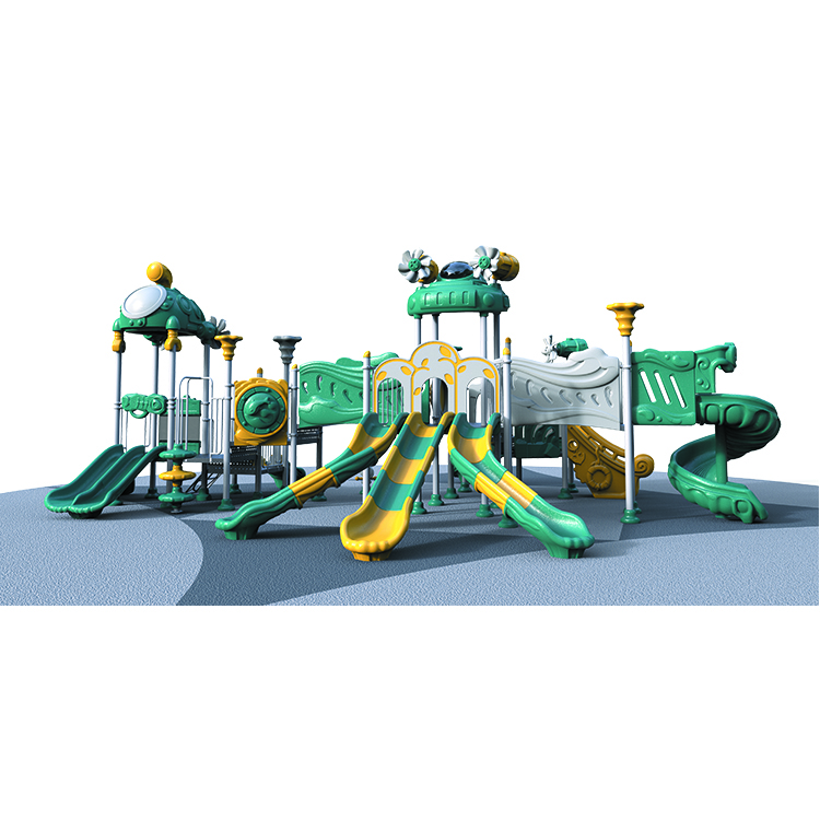 Guangzhou manufacturer kindergarten playground <strong>kids</strong> plastic outdoor playground