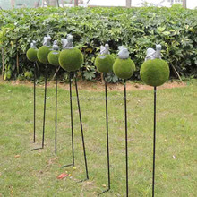 New design item garden decoration on the stick
