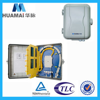 8 core 16 core fiber optic cable splicer ftth box 16 with PC ABS material
