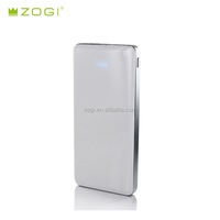 Portable slim Power Bank Pure 12000mah dual port with polymer battery and Aluminium case
