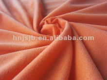 polyester Tricot Brushed /Golden velvet Fabric for garments ,sportswear /automotive textile