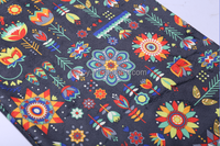 new design polyester UV resistant printed fabric for luggage