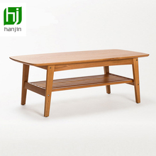 Dickson The Nordic log lubricious contracted pure solid oak completely real wood tea table sitting room small wooden table