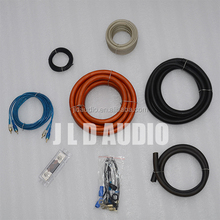 True spec from JLDAUDIO 1/0 gauge car audio installation wiring kit high quality with OFC material