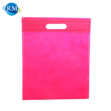 Standard Size Advertising Reusable Storage Non Woven Die Cut Bag