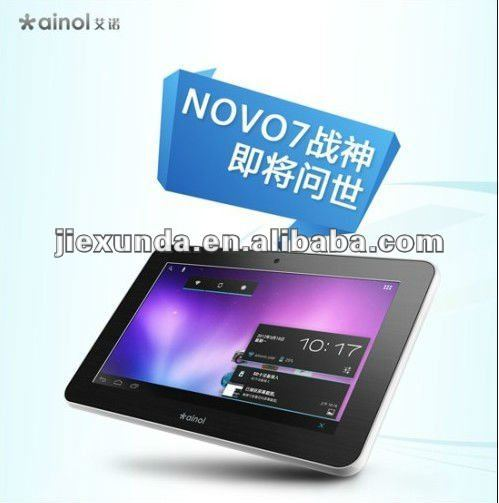 Ainol Novo 7 Mars Tablet PC with 7'' 1024x600 Capacitive Touch Screen Android 4.0 Cortex A9 CPU
