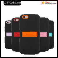 city&case Newest Mobile Phone combo PC and TPU Case for iPhone 5s 6 6s