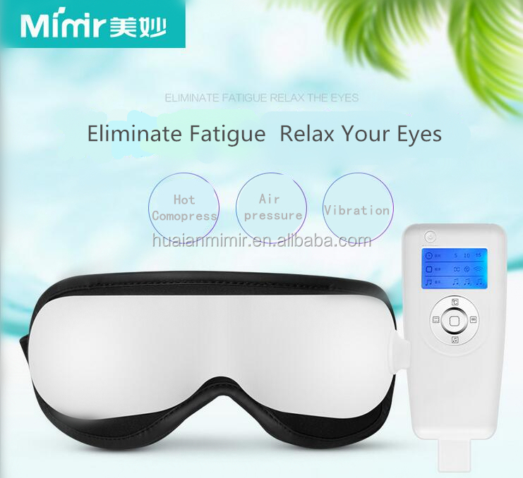 Mimir new product air pressure Vibrating Electric Eye Care Massager