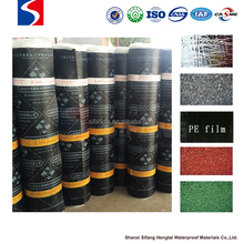 SBS modified bitumen waterproof membrane cheap roofing materials