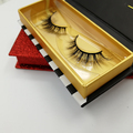 Alibaba top sell 6d mink lashes box custom packaging