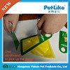 portable pet green biodegradable dog poop bags,dog poop carrier bags