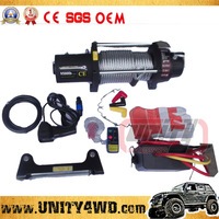 NEW Portable Electric Winch Mini 24V/12V Electric Winch electric capstan winches for 4x4